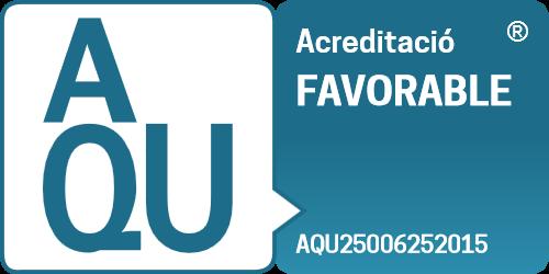 Certificat AQU